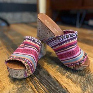 Rampage wedge sandal